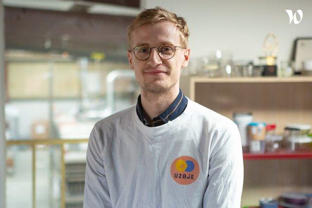 Rencontrez Bastien, Bizdev - Uzaje