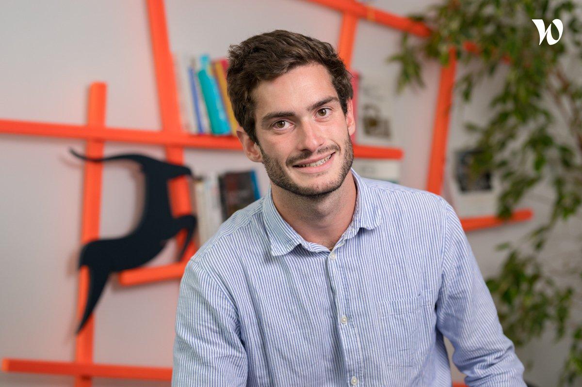 Rencontrez Mathieu, Product & Project leader - Antilop