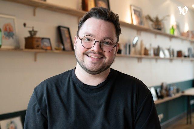 Rencontrez Quentin, Directeur Artistique - OP1C (On prend un café)