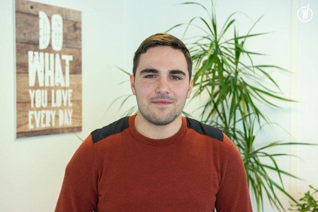 Rencontrez Quentin, Ingénieur Recherche et Développement - Netfective Technology