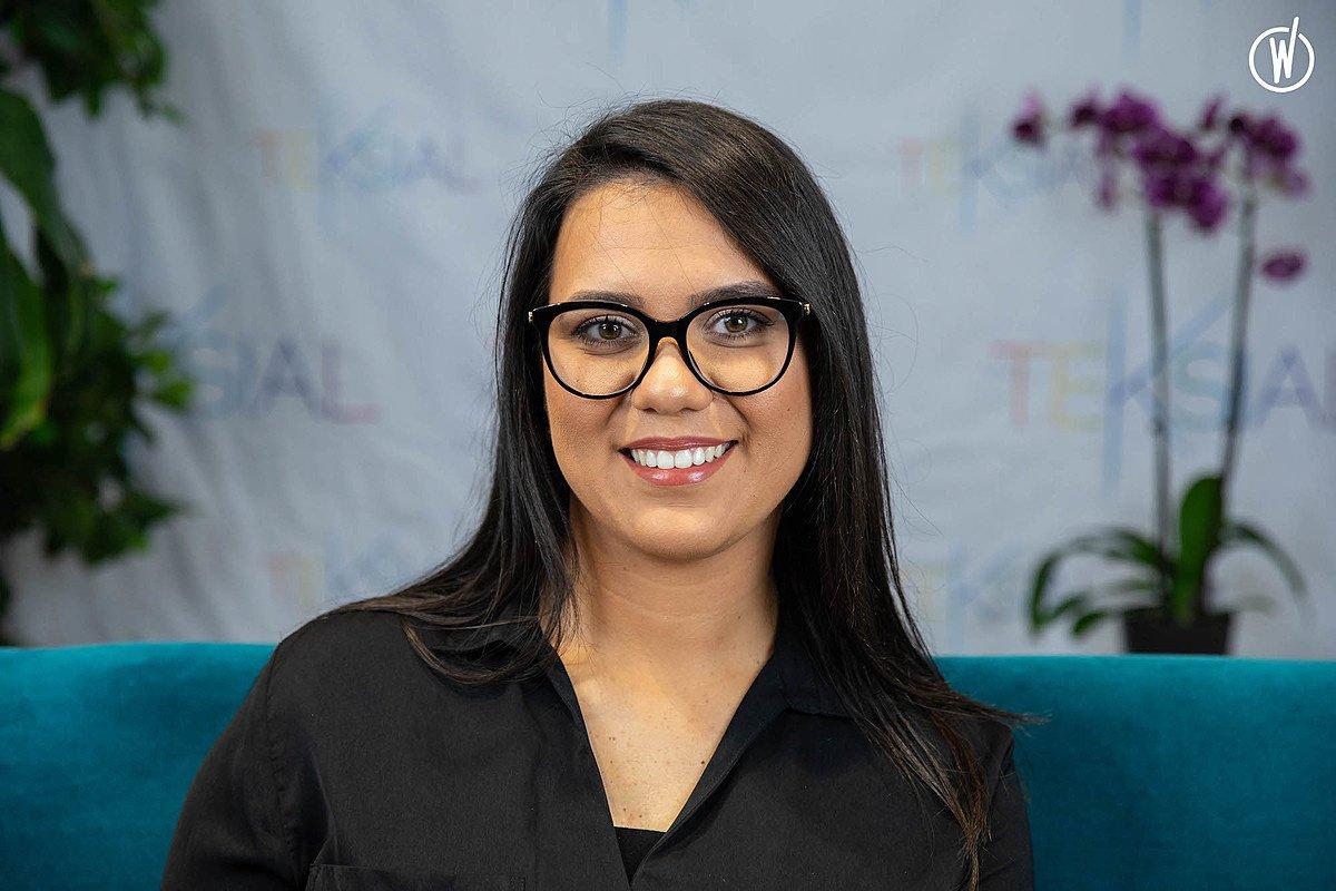 Rencontrez Mounia, Chargée des Ressources Humaines - Teksial