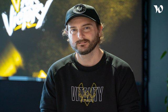 Rencontrez François-Xavier, Head of Content Creation & activations - Team Vitality