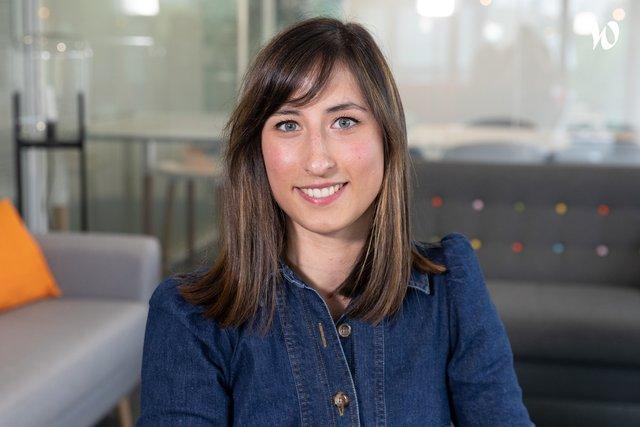 Rencontrez Mathilde, Chargée de recrutement et développement RH - La Mutuelle Générale