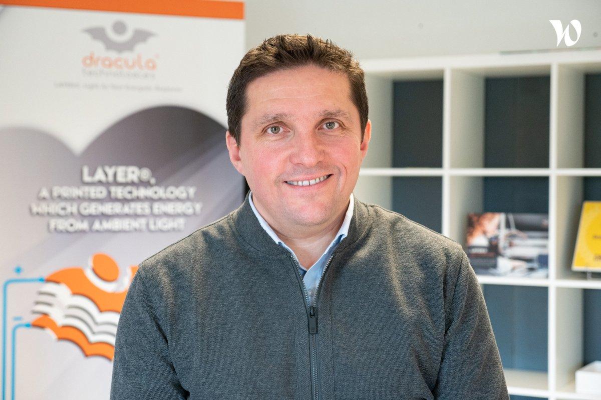 Rencontrez Brice, CEO & Fondateur - Dracula Technologies