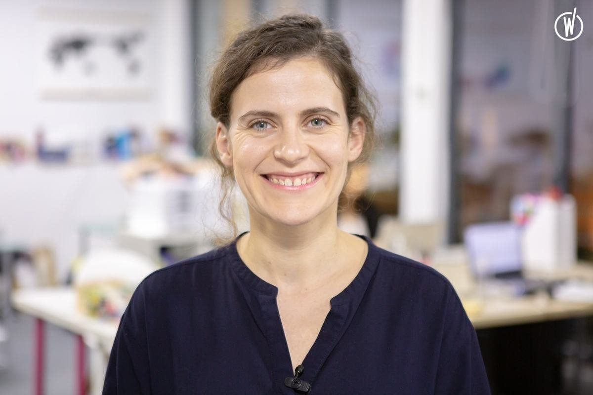 Rencontrez Dorothée, Co-fondatrice et directrice - BECOMTECH