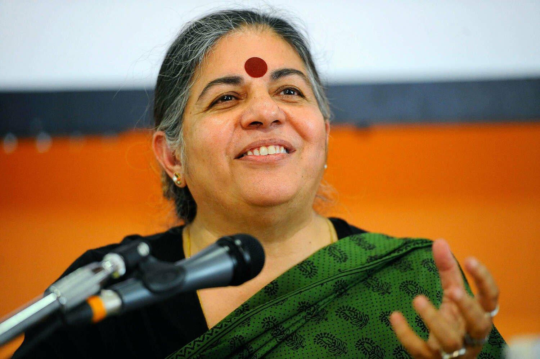 Vandana Shiva on seeking truth and saving the planet