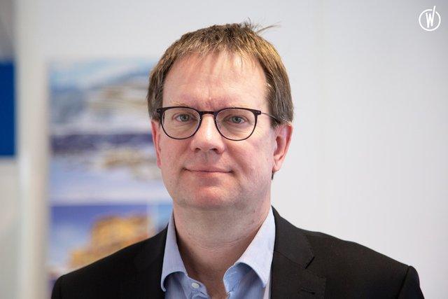 Rencontrez Xavier, Directeur Infrastructures du Parc Villages et Stratégie Montagne - Club Med
