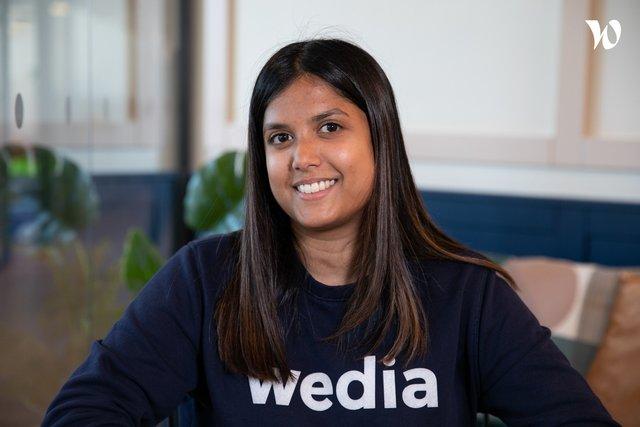 Rencontrez Déborah, Talent Acquisition Manager - Wedia