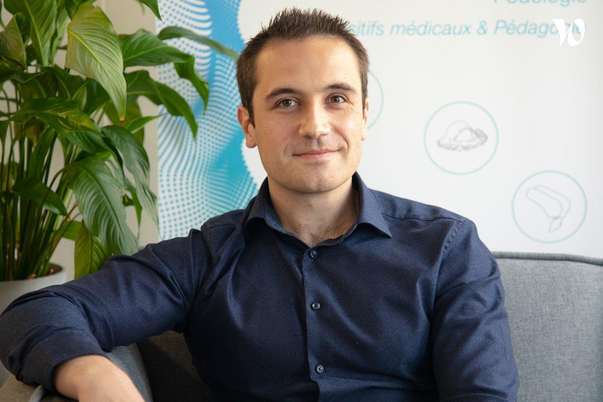 Rencontrez Jérémy, CEO - Co-Founder - BONE 3D
