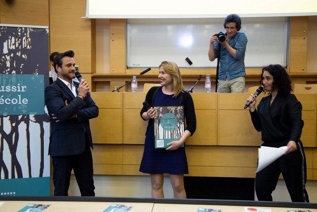 """Prix Tenzing - lauréat """"Ecole & Recherche"""" - Tenzing Conseil"""