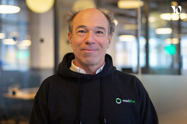 Rencontrez Christophe, Vice President EMEA Sales & Marketing - ReachFive