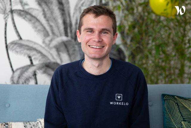 Rencontrez Etienne, Head of Product - Workelo