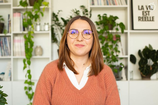 Rencontrez Camille, Customer Care et Sales - Wemind