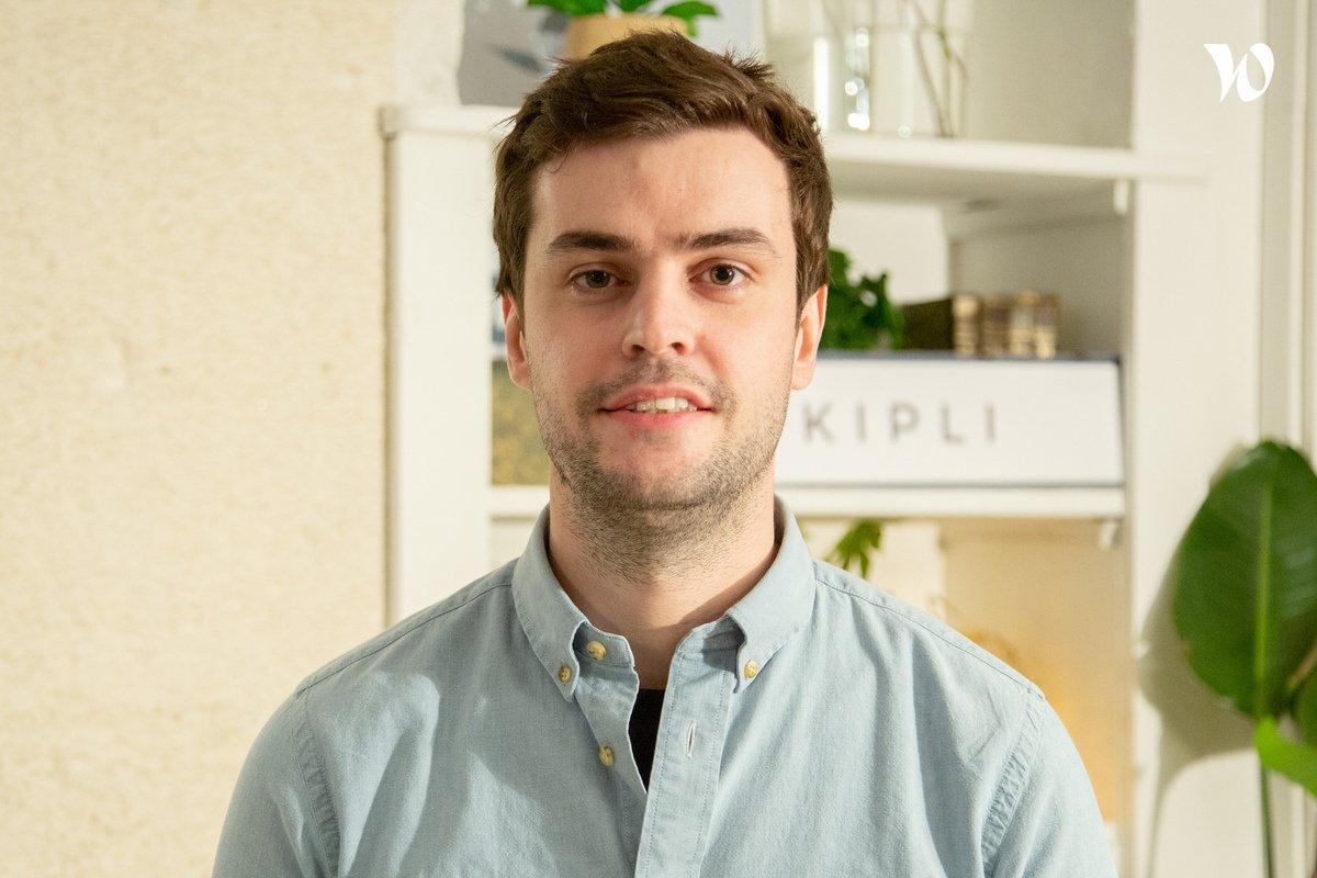 Rencontrez Antoine, Co-founder & COO - Kipli