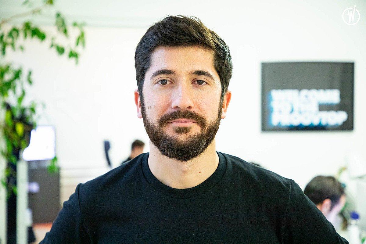 Rencontrez Gabriel, Co-fondateur et Directeur général - WeProov