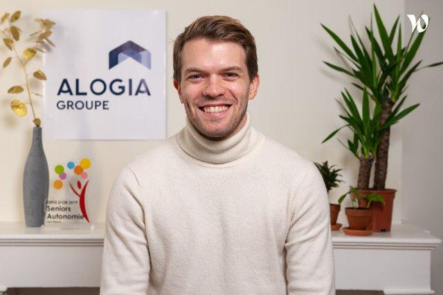 Rencontrez Alexandre, Fondateur et Président - ALOGIA Groupe