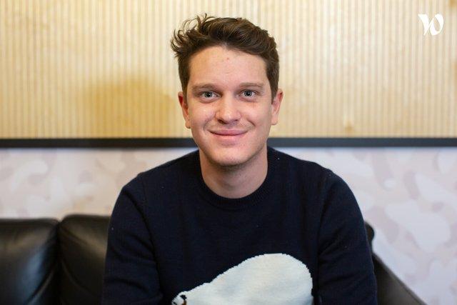 Rencontrez Lucas GAILLARD, COO et Co-fondateur - Manty