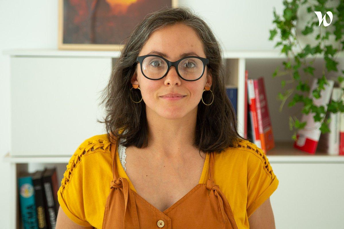Rencontrez Delphine,  Développeuse Front-End - Jaji