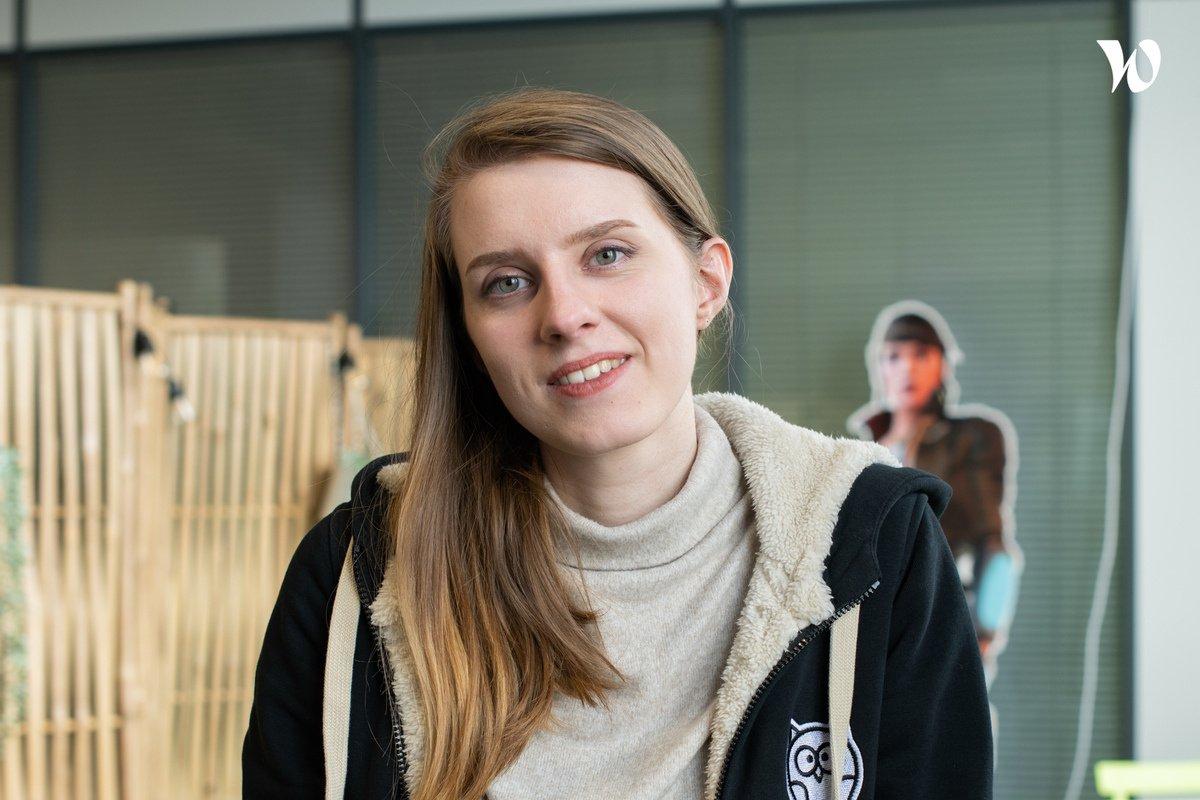 Rencontrez Noémie, Cheffe de projets événementiels junior - Hootside
