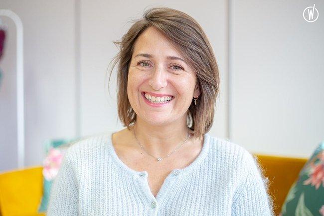 Rencontrez Cécile , Directrice Marketing et Communication - Eurovet