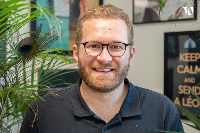 Rencontrez Yannick, Grateful Co-Founder - Listen Léon
