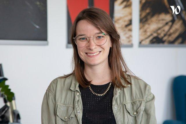 Rencontrez Cloé, Cheffe de projet digital - Probikeshop