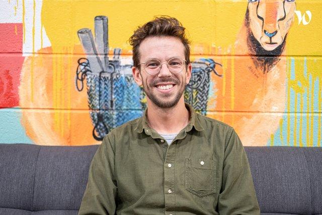 Rencontrez Julien, Cofounder - Head of Tech & Product - Carbo
