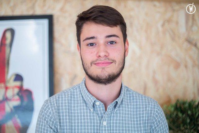 Rencontrez Simon, Stagiaire Marketing & Acquisition - Keyzz