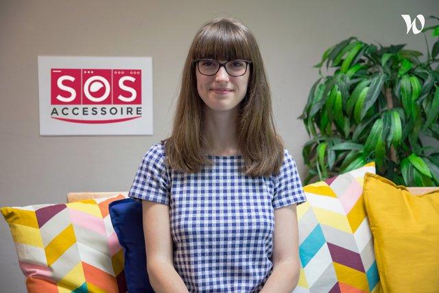 Rencontrez Marie, Chef de projet vidéo - SOS Accessoire