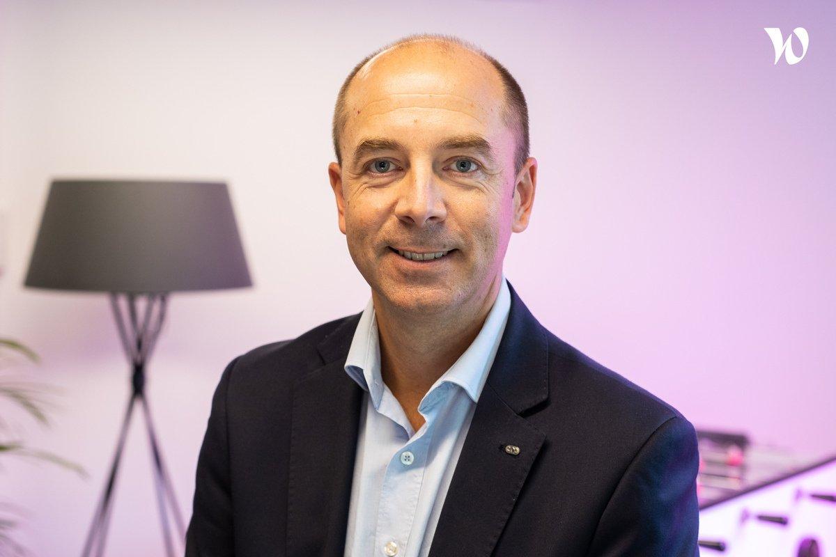 Rencontrez Sébastien, Président  - CELENCIA