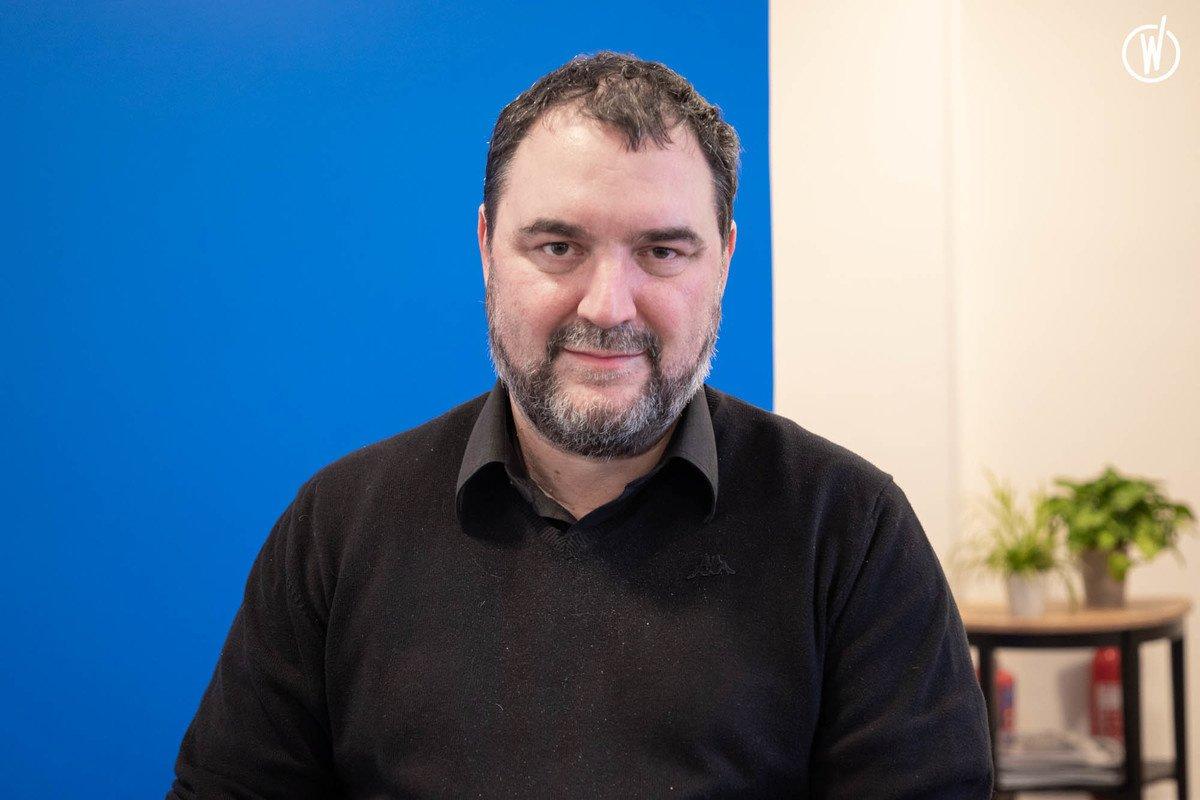 Rencontrez Jean-Paul, Directeur de la recherche et du développement / Co-fondateur - Quantalys France