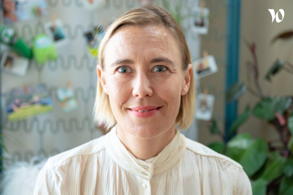Rencontrez Anne Céline Lescop, Directrice Générale - Zei
