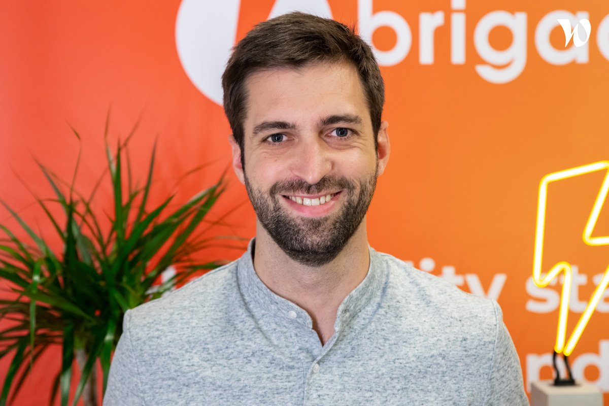 Meet Florent, CEO and co-founder - BRIGAD