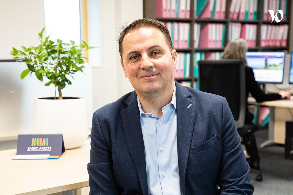 Rencontrez Laurent, Directeur Général du groupe & Associé – Directeur du bureau - Sadec Akelys