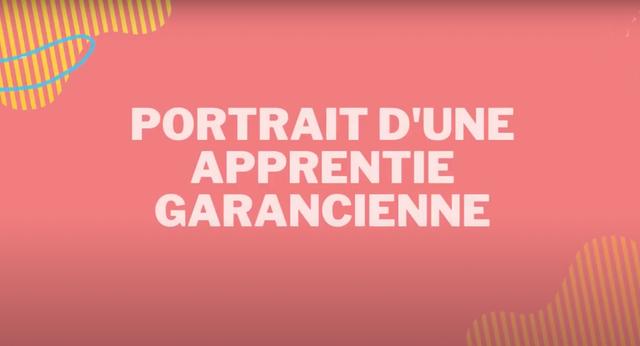 Portrait d'une apprentie Garancienne - GARANCE