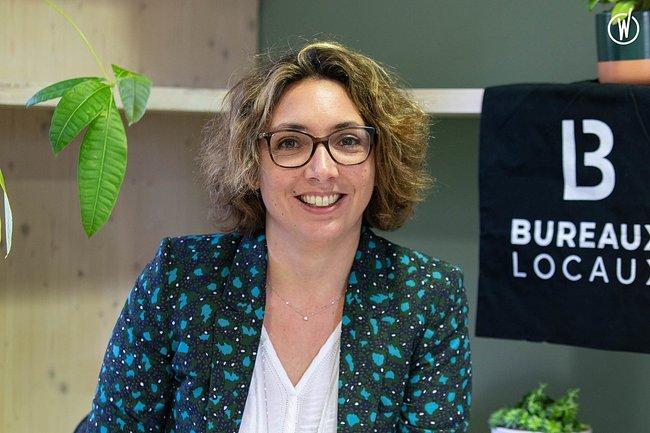 Rencontrez Audrey, Directrice générale - BureauxLocaux