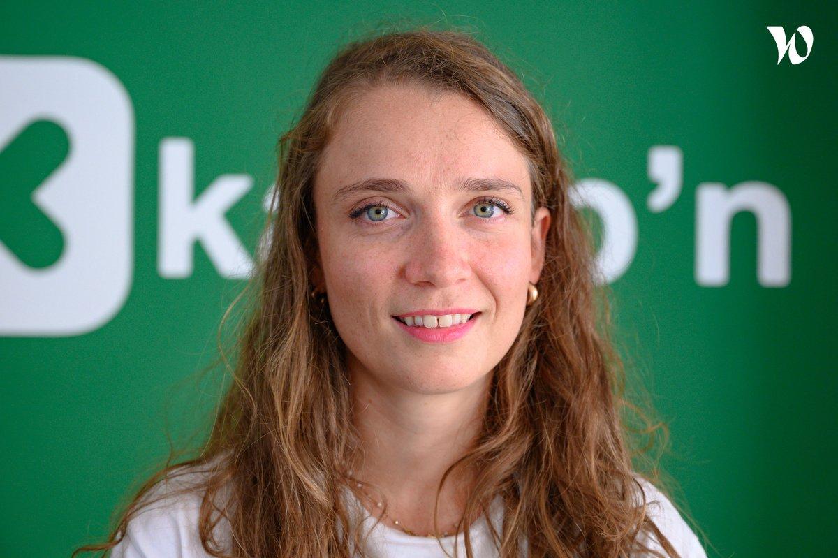 Rencontrez Marion, Team Lead - Kamp'n