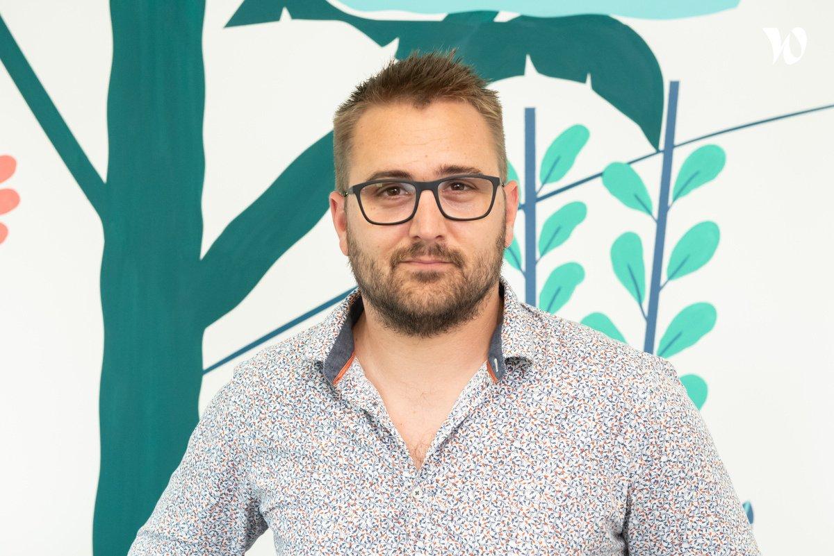 Rencontrez Thomas, Directeur de production du département Symfony - Calliweb
