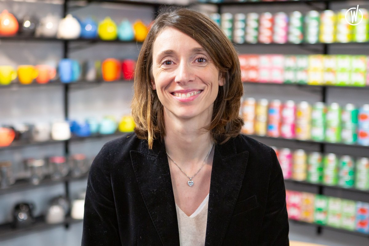 Rencontrez Valérie, Responsable Achats & Supply Chain - Kusmi Tea