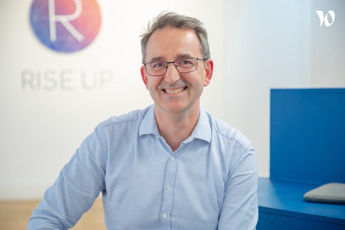 Rencontrez Laurent, Directeur de projet & Responsable du Delivery - Rise Up