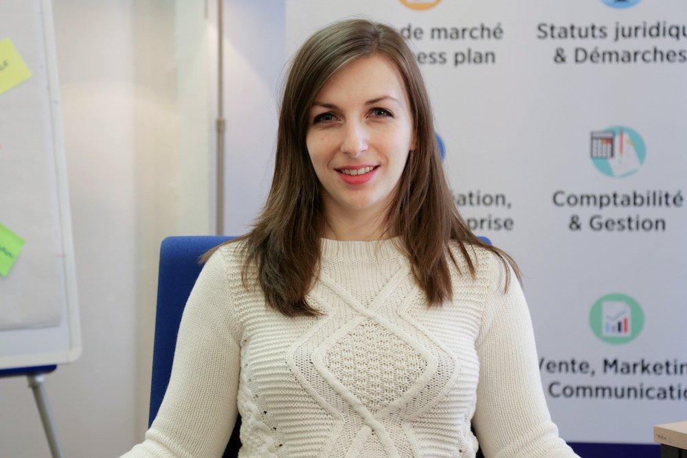 Rencontrez Julie, Conseillère Entrepreneuriat Grands Comptes - CréActifs