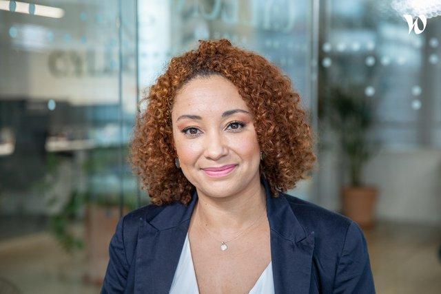 Rencontrez Gaëlle, Consultante Office 365 - Cyllene