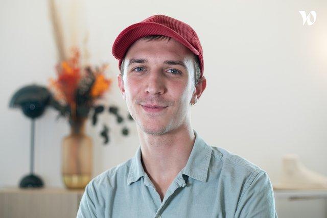 Rencontrez Florian, Chef de projet opérations et commerce - Morning