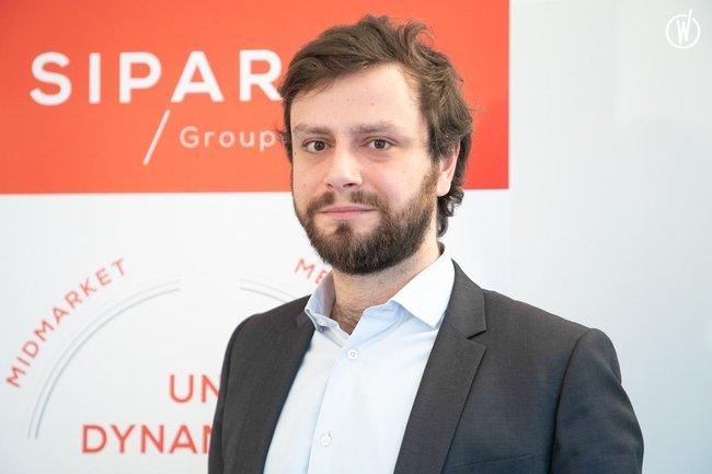 Rencontrez Pierre, Chargé d'affaires - SIPAREX