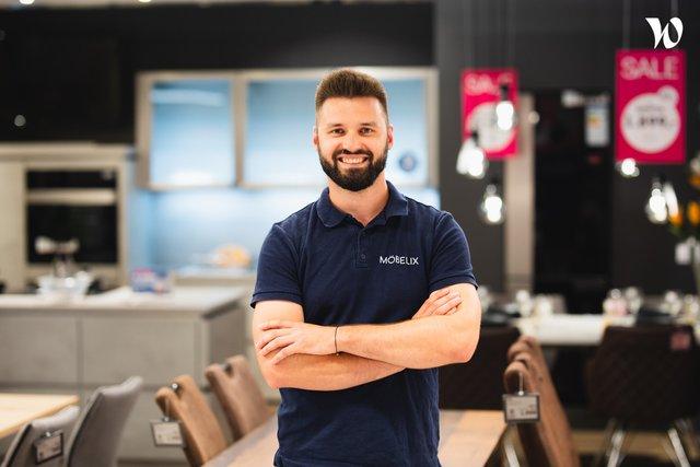 Seznamte se: Jakub Pečenka, Prodejce kuchyní - Möbelix