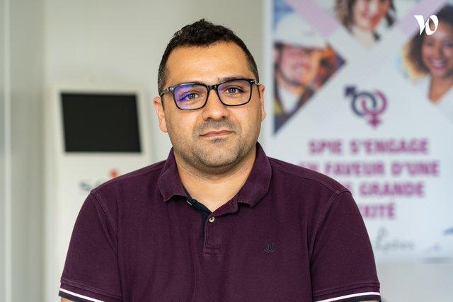 Rencontrez Mohamed, Consultant Cybersécurité - SPIE ICS