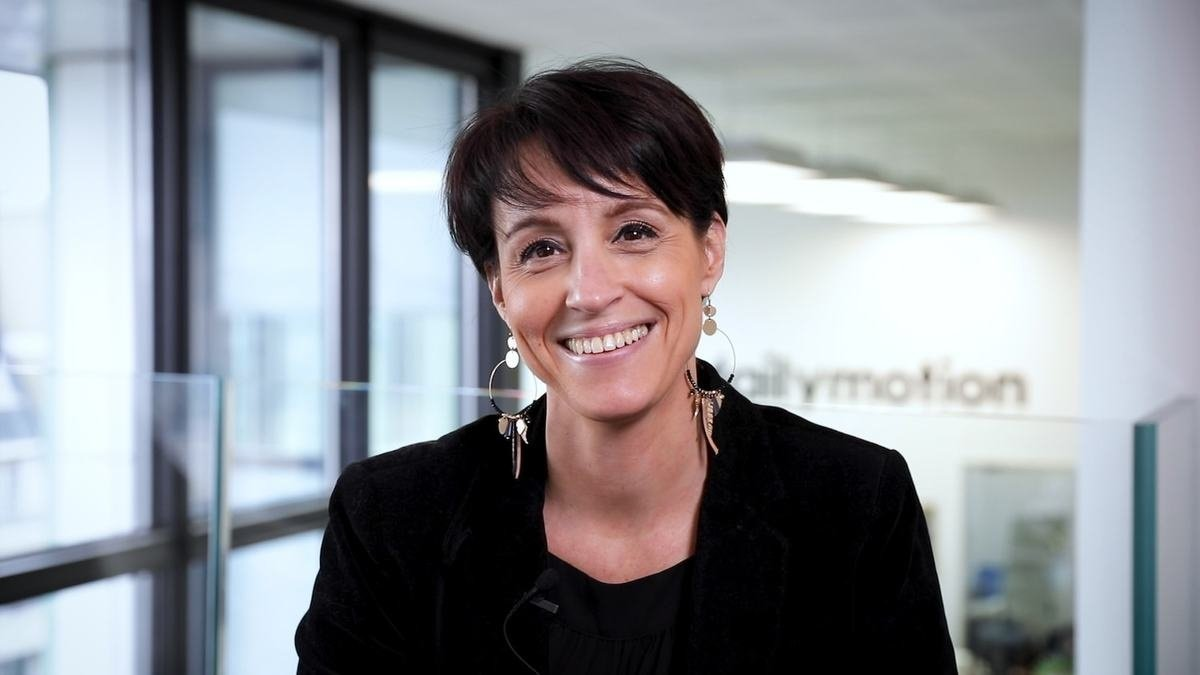 Meet Stéphanie, Chief People Officer - Dailymotion