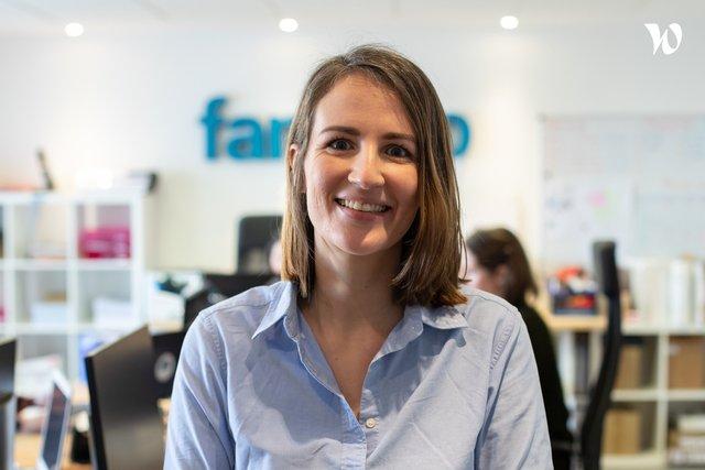 Rencontrez Alix, Responsable Communication and Digital Acquisition - Famileo