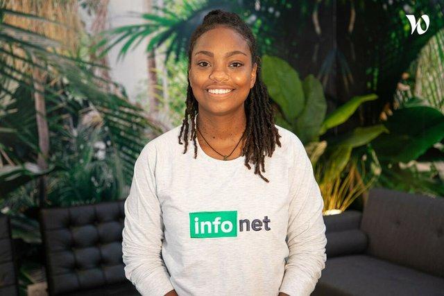 Rencontrez Chloée, Head of content - Infonet