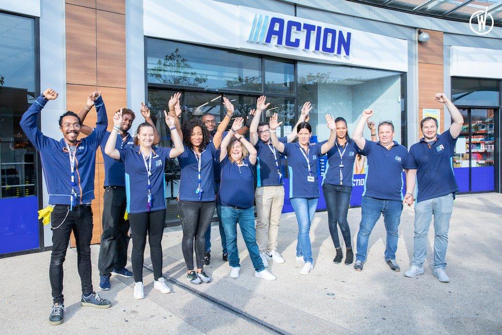 Découvrez la culture d'entreprise chez Action - Action